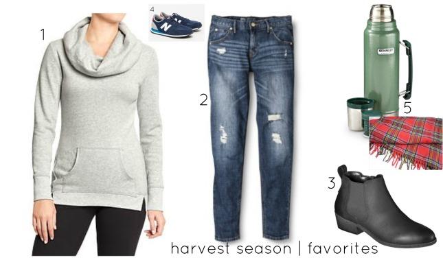 harvest season favorites